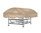 Shoretex Boat Lift Canopy Covers