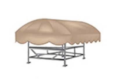 Shoretex Boat Lift Canopy Covers