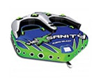 Watersports equipment, water tube