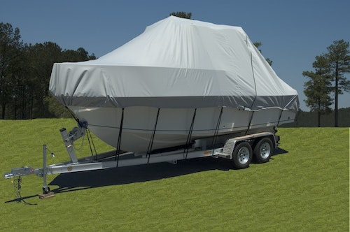 Boat Cover for Boat with Hard Top or T-Top