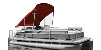Automatic PRW-ARM Pontoon Bimini Top