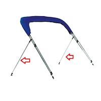 Bimini Top Brace Kit, Strut Kit, Pole Kit