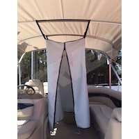 Bimini Top Privacy Changing Curtain