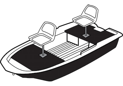 Molded Hull Poly Jon Boat Covers