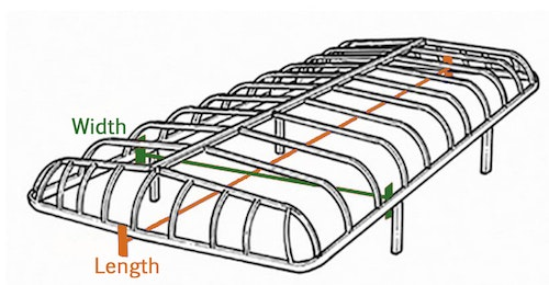 How to Measure ShoreMaster Canopy Lifts
