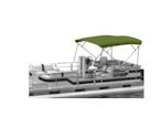 Green Pontoon Bimini Boat Top