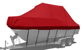 Carver Boat Cover For Boats With Hard Tops and T-Tops