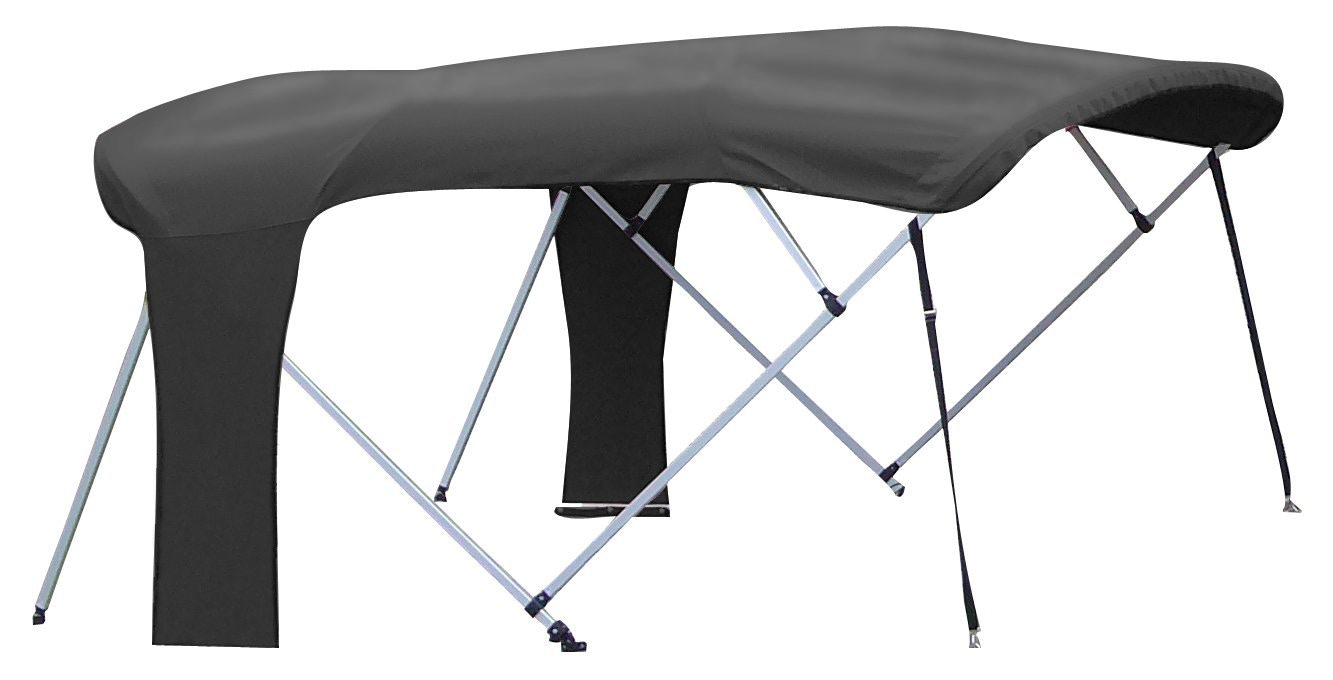 Carver Buggy Style Bimini Top in Black