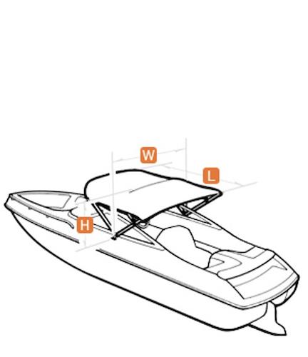 How to Measure for a Bimini Top