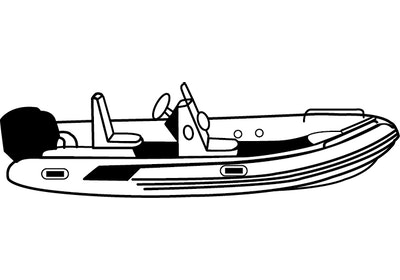 Sport Type Inflatable Boats with Center Console Covers