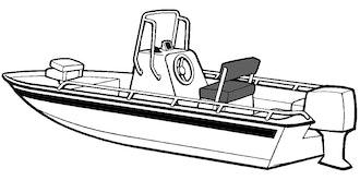 Bay Style Shallow Draft Fishing Boat