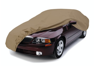 Universal Fit Car Cover on Lincoln