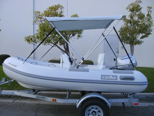 Inflatable Boat Bimini Tops & Mounting Kits | CoverQuest