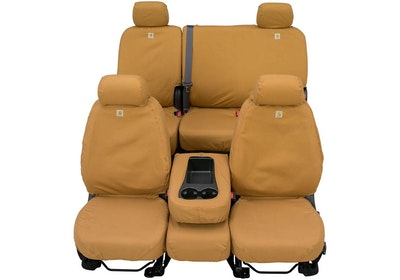 Carhartt Custom Seat Covers in Carhartt Brown by Covercraft