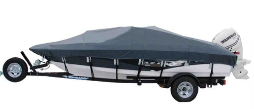 Shoretex Boat Covers for Champion Chase Boats in WeatherMax Light Charcoal