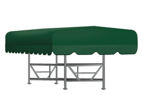 Floe, Feighner, Vibo Boat Lift Canopy Cover in Green