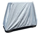 Carver Industries Golf Cart Cover White Background