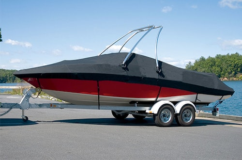 Boat covers bimini tops boat lift canopy covers for Boat lift motor cover