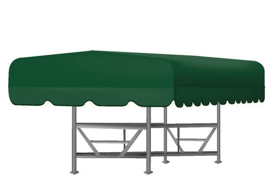 Floe Boat Lift Canopy Cover in Green  sc 1 st  CoverQuest & Floe Boat Lift Canopy Covers | Shoretex Covers | CoverQuest