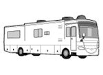 CoverQuest Class A RV Line Drawing