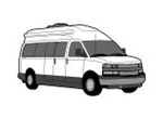 CoverQuest Class B RV Line Drawing