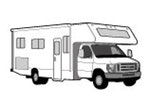 CoverQuest Class C RV Line Drawing