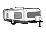 CoverQuest Hi-Lo Camper RV Line Drawing