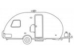 CoverQuest R-Pod RV Line Drawing