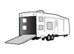 CoverQuest Toy Hauler RV Line Drawing