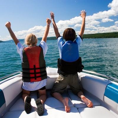 Spring Boating Fun