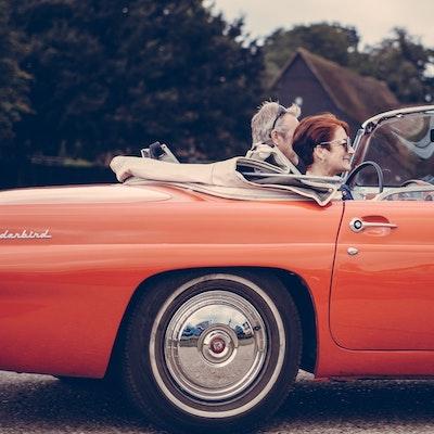 Wheel on Classic Car