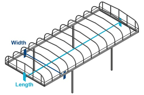 Vibo Boat Lift Canopy Covers   Replacement Vibo Boat Lift Canopies
