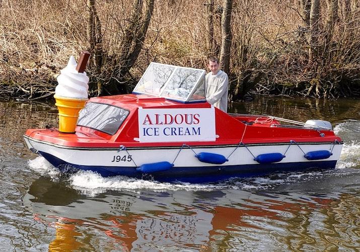 Ice Cream Boat Coverquest