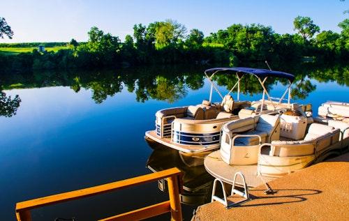 Pontoon Boat Bimini Top Replacement Canvas